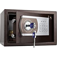 TIGERKING Personal Safe Security Digital Lock Box Key Combination Code Safe Box Steel Money Box Electronic Small Safes…