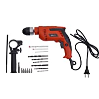 IBELL Impact Drill 13MM, 650W, 2800RPM with Auto Chuck in BMC Box with Accessories