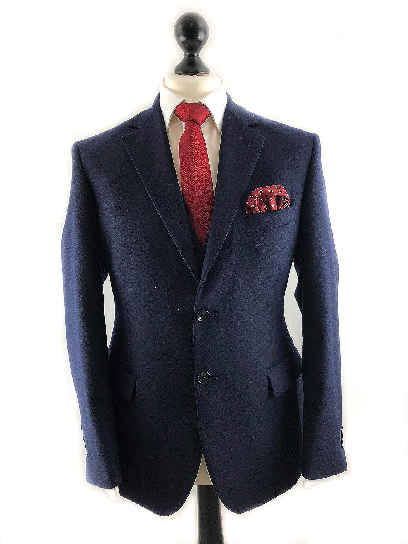 Suited Ascot - Corbata de seda y bolsillo cuadrado: Amazon.es ...