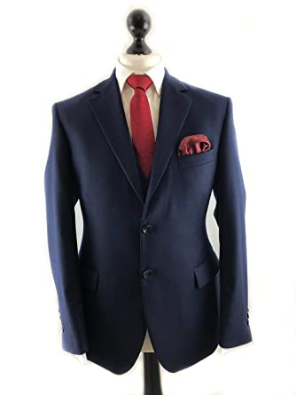 Suited Ascot - Corbata de seda y bolsillo cuadrado: Amazon.es ...