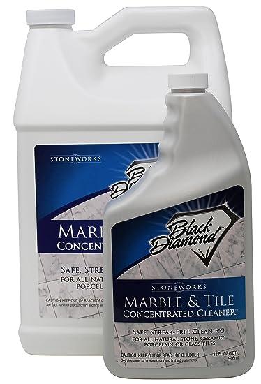 Amazoncom Black Diamond Marble Tile Floor Cleaner Great For - Streak free tile floor cleaner recipe