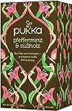Pfefferminz & Süßholz PUKKA Tee BIO 4 Packungen à 20 Teebeutel