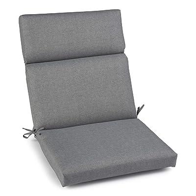 Brentwood Originals 35590 Indoor/Outdoor Chair Cushion, Beauty Ash Grey: Home & Kitchen