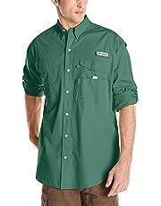 9802c83f9e1 Columbia Men's PFG Bonehead II Long Sleeve Shirt, Cotton, Relaxed Fit