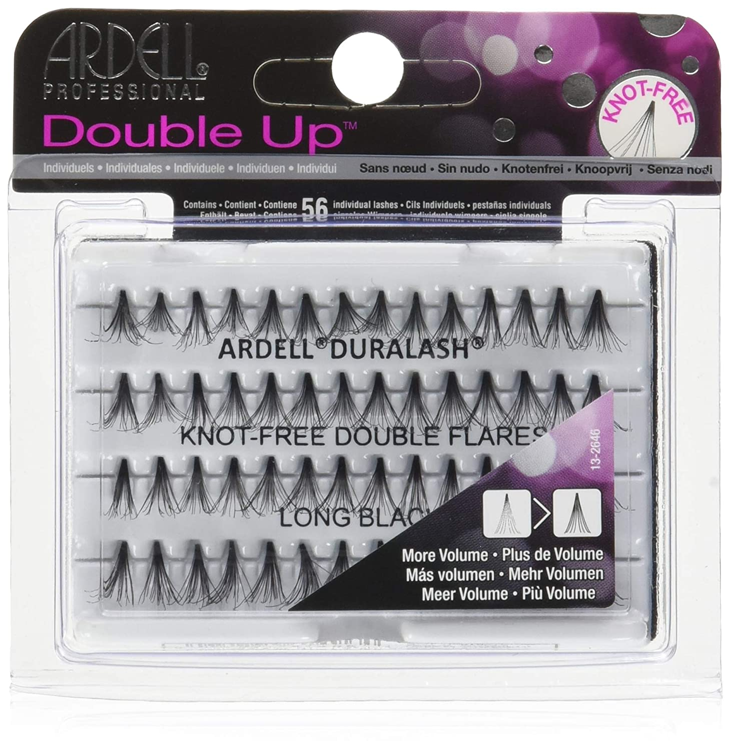 4226166c90f Amazon.com : Ardell Double Individual Long Black Knot Free Naturals : Beauty