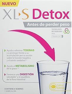 XLS Detox - 8 sobres. Ayuda a eliminar toxinas, al metabolismo de la grasa