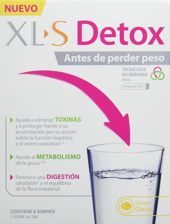 XLS Detox - Ayuda a eliminar toxinas, al metabolismo de la grasa y favorece una digestión saludable. Detoxifica tu cuerpo antes de perder peso - 8 ...