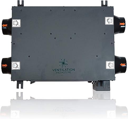 Récupération De Chaleur Ventilateur de salle de bain Condensation Ventilation complet 1 ou 2 Pièce