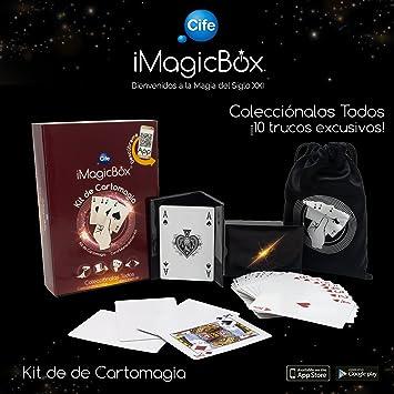 iMagicBox Kit de Magia con Cartas (Cife Spain 41448): Amazon.es: Juguetes y juegos