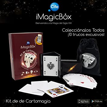 iMagicBox- Kit de Magia con Cartas (Cife Spain 41448)