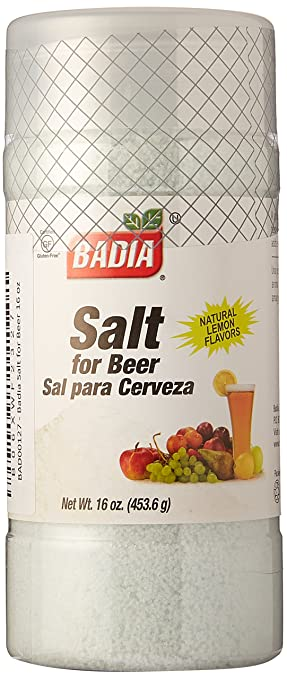 Badia Salt for Beer 16 oz