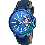 LimeStone Blue Fashion Day and Date Display Analog Watch for Men/Boys - (LS2769)