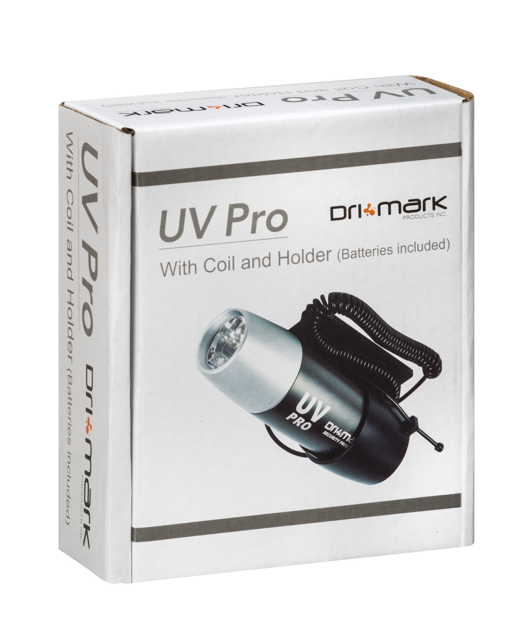 Drimark UV Pro with Coil and Holder, Gray/Silver (UVPROCL)