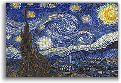 Decompression 1000 Piece The Starry Night Jigsaw Puzzle Educational Game Gift