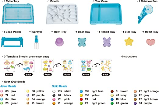 Aquabeads- Estudio Deluxe, Multicolor (Epoch making toys Ltd 30258) , color/modelo surtido: Amazon.es: Juguetes y juegos