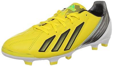 size 40 72d26 744b2 adidas F30 TRX Fg Lea, Herren Fußballschuhe, Gelb - Jaune (Black 1)