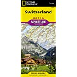 Switzerland adv. ng wp: Travel Maps International Adventure Map (Adventuremaps) (National Geographic Adventure Travel Maps)