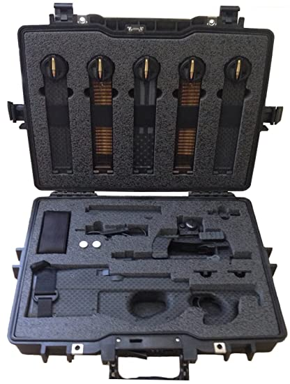 Amazoncom Case Club Pre Made Ps90 Waterproof Rifle Case Sports