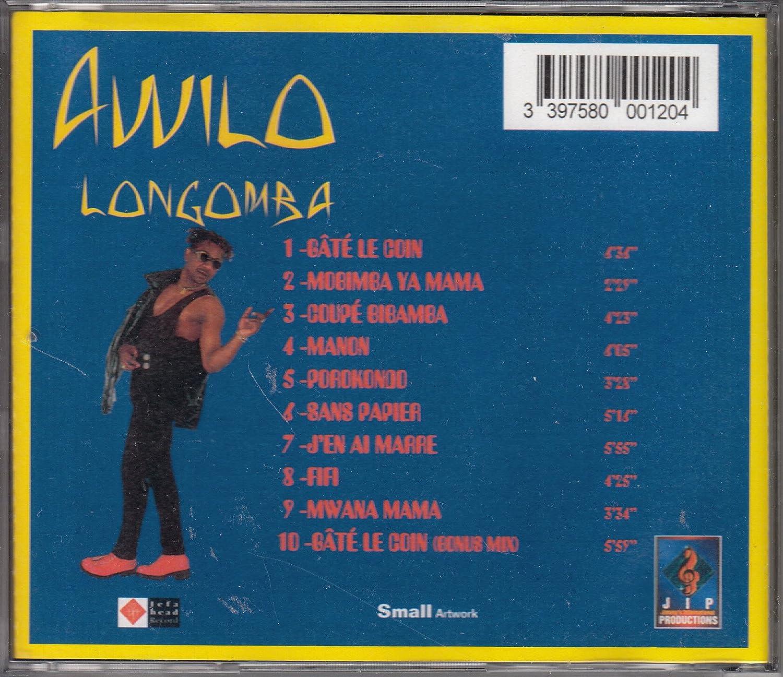 Coupe Bibamba by Awilo Longomba: Amazon co uk: Music
