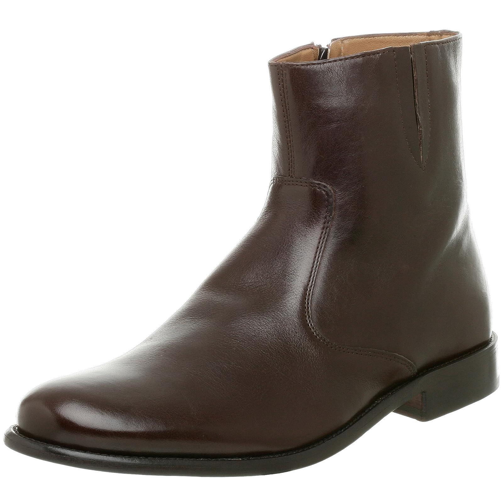 Florsheim Men's Hugo Boot 18570 Black Milled Leather - 1