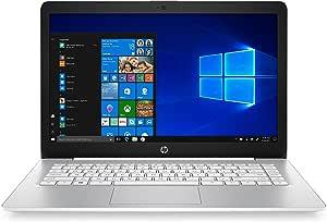 """HP 14-ds0061cl Stream 14"""" HD A4-9120e 1.5GHz 4GB RAM 32GB eMMC Win 10 Home S White (Renewed)"""