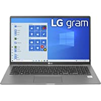 LG gram Laptop 15.6Inch IPS Touchscreen, Intel 10th Gen Core i7 1065G7 CPU, 16GB RAM, 1TB M.2 MVMe SSD 512GB x 2, 17…
