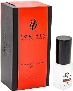 RawChemistry Pheromone Cologne, for Him [Attract Formula] - Bold, Extra Strength Formula 1 oz.