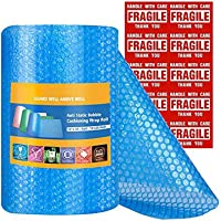 Switory Blauwe anti-statische bubble demping Wrap Roll Air Bubble Roll 1 Roll 11m, geperforeerd elke 12, inclusief 10…