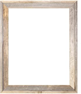 18x24 2 wide signature reclaimed rustic barnwood open frame no glass or back