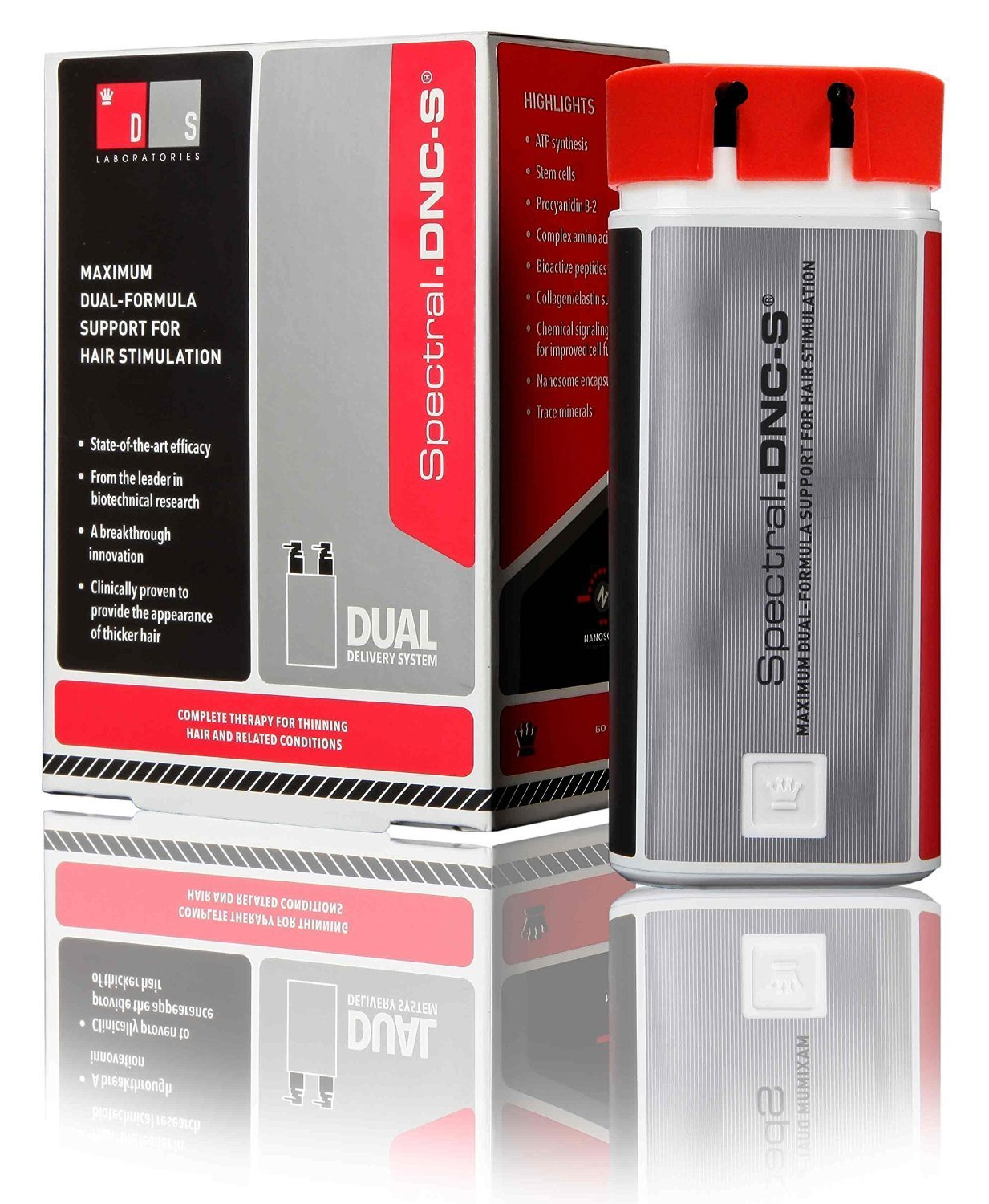 DS Laboratories Spectral.DNC-S Advanced Hair Regrowth Treatment and Stimulating Serum (60mL) Hair Care & Styling