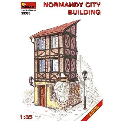 MiniArt 1:35 Scale Normandy City Building Construction Set (Multi-Colour): Toys & Games