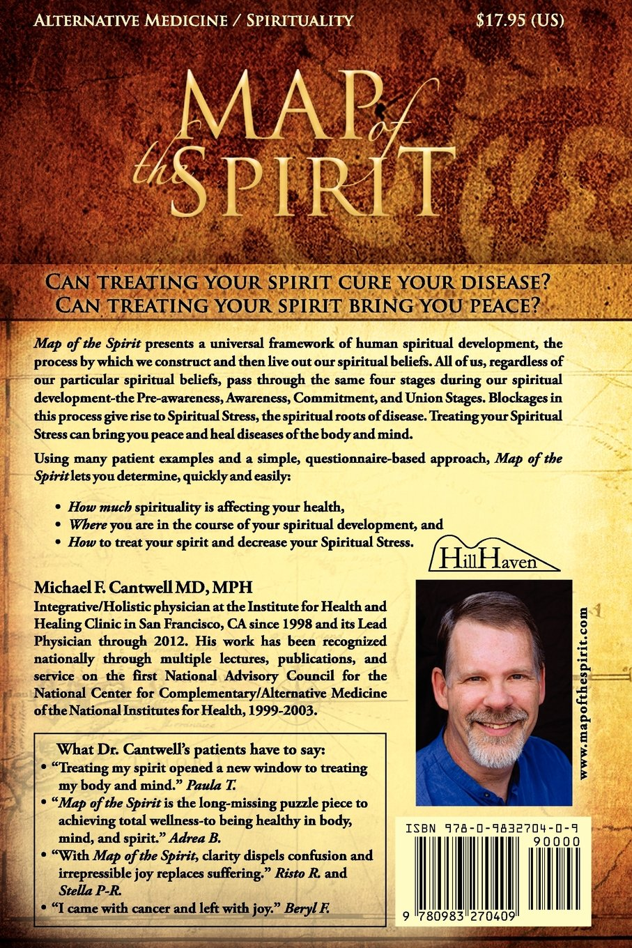 Map Of The Spirit: Diagnosis And Treatment Of The Spirit: Michael F  Cantwell: 9780983270409: Amazon: Books