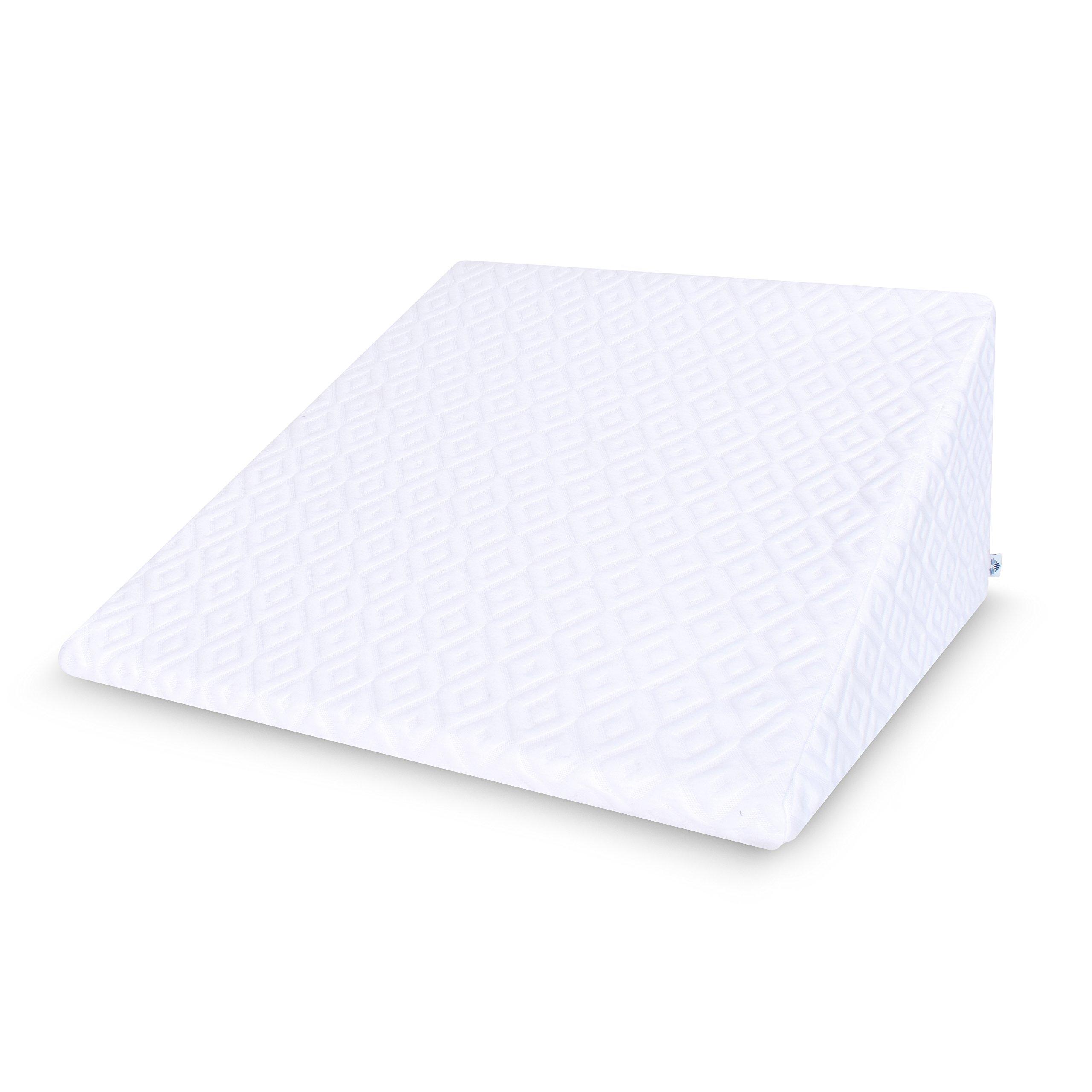 amazon com pharmedoc bed wedge pillow 26 25 7 5
