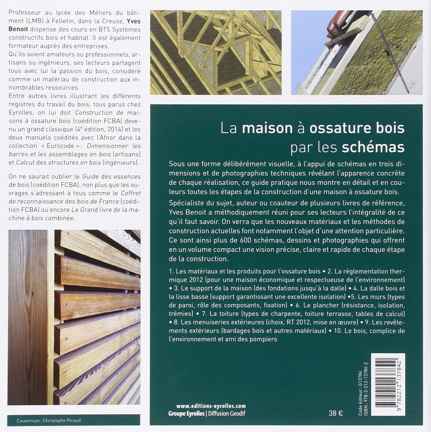 Construction maison ossature bois yves benoit for Livre construction bois
