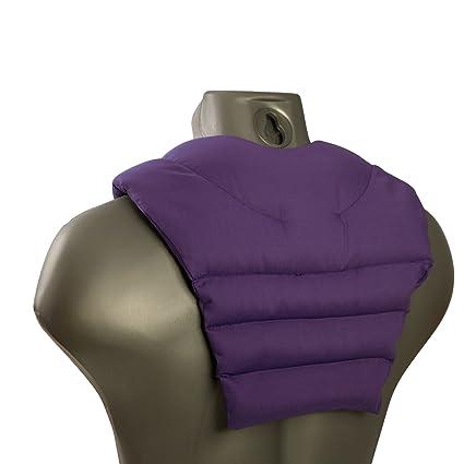 Cojín para el cuello con parte dorsale | violeta | Almohada ...