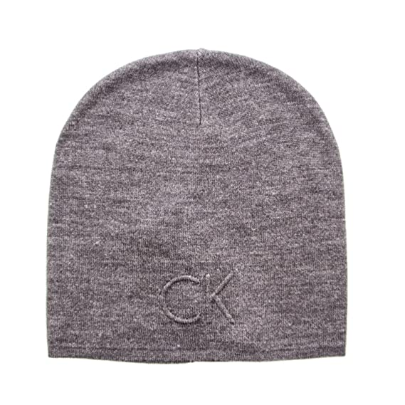 CALVIN KLEIN MAN SKULLCAP HAT GARRETH HAT K50K503151 grey  Amazon.co ... c3a7dd414c2