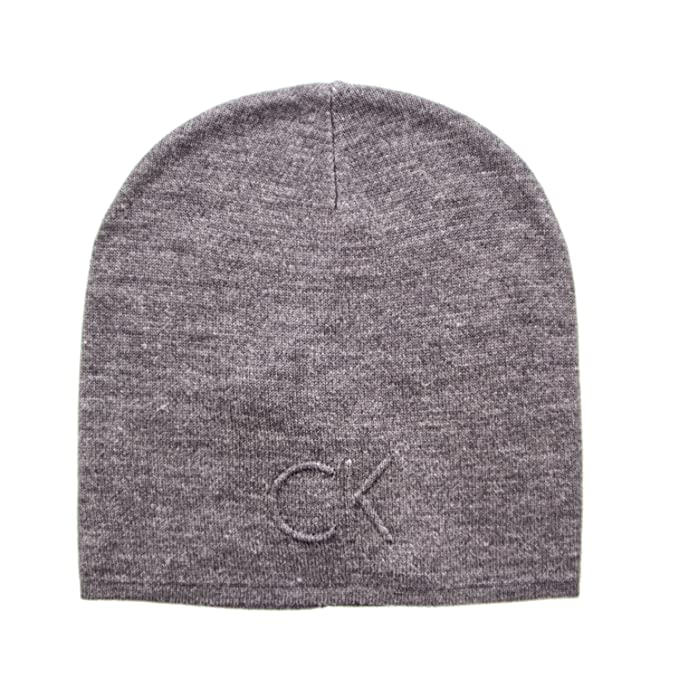 Calvin Klein Man Skullcap HAT Garreth HAT K50K503151 Grey  Amazon.ca ... 1148bdb056f