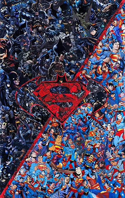 """16/""""x28/""""Superman Posters HD Canvas Print 16/""""x28/"""" Home Decor Paintings Wall Art"""