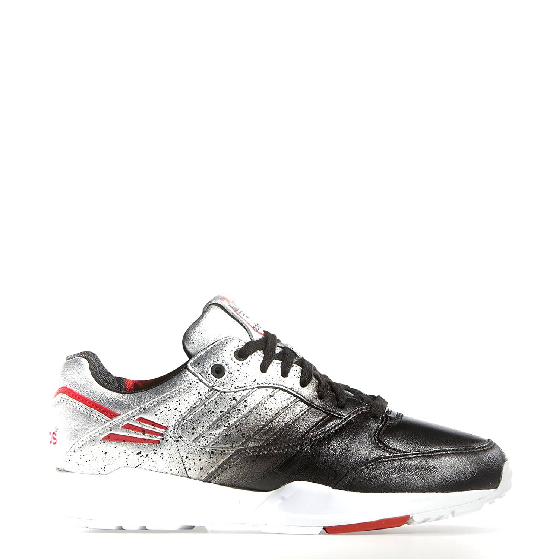 Amazon.com | adidas Women's Rita Oa Tech Super W Silver/Black/White M19074  (Size: 8.5) | Fashion Sneakers