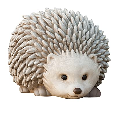 Roman Pudgy Pal Garden Figure, 75262, Hedgehog, 6.25 inches tall : Outdoor Statues : Garden & Outdoor