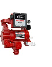Fill-Rite FR311VN High Flow AC Pump with Meter, 115/230V, 35 GPM at Outlet