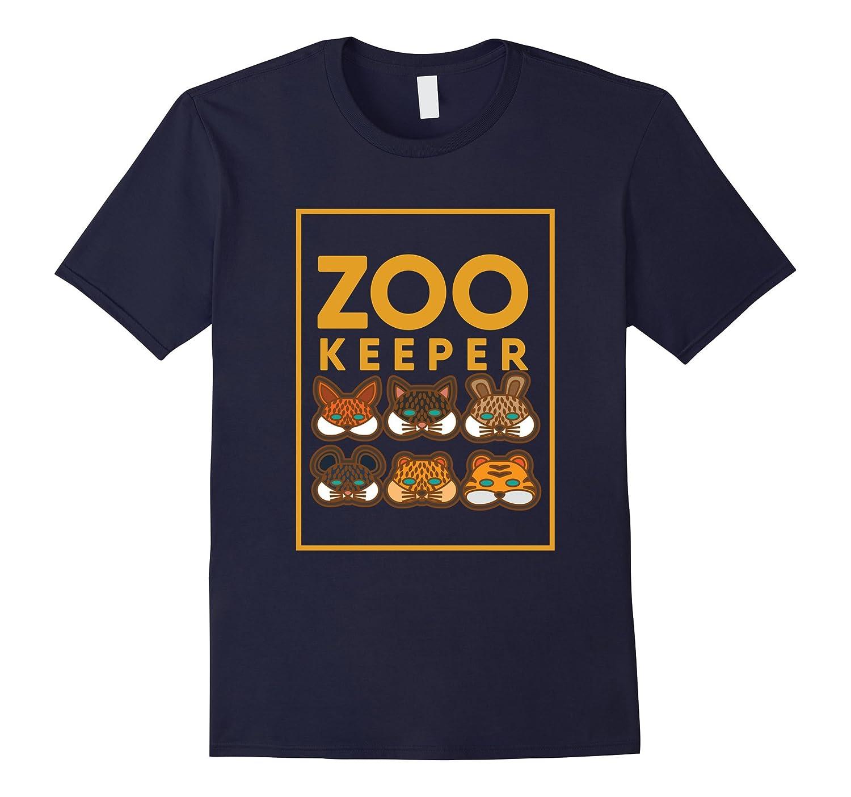 Zoo Keeper T-Shirt Gift Animal Lover Safari-FL