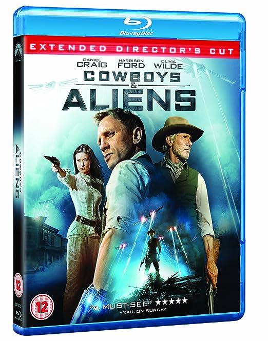 Cowboys & Aliens Edizione: Regno Unito Italia Blu-ray: Amazon.es: Movie, Film: Cine y Series TV