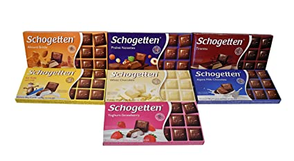 Amazon.com : Schogetten German Chocolates Variety of Seven Bars (3.5 Ounces Each) : Grocery & Gourmet Food