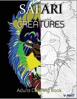 Amazon.com: Adult Coloring Book: African Animal Safari ...
