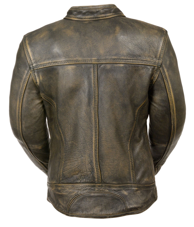 f3ecbe9f9 Amazon.com: Milwaukee Leather Women's Brown Distressed Leather ...