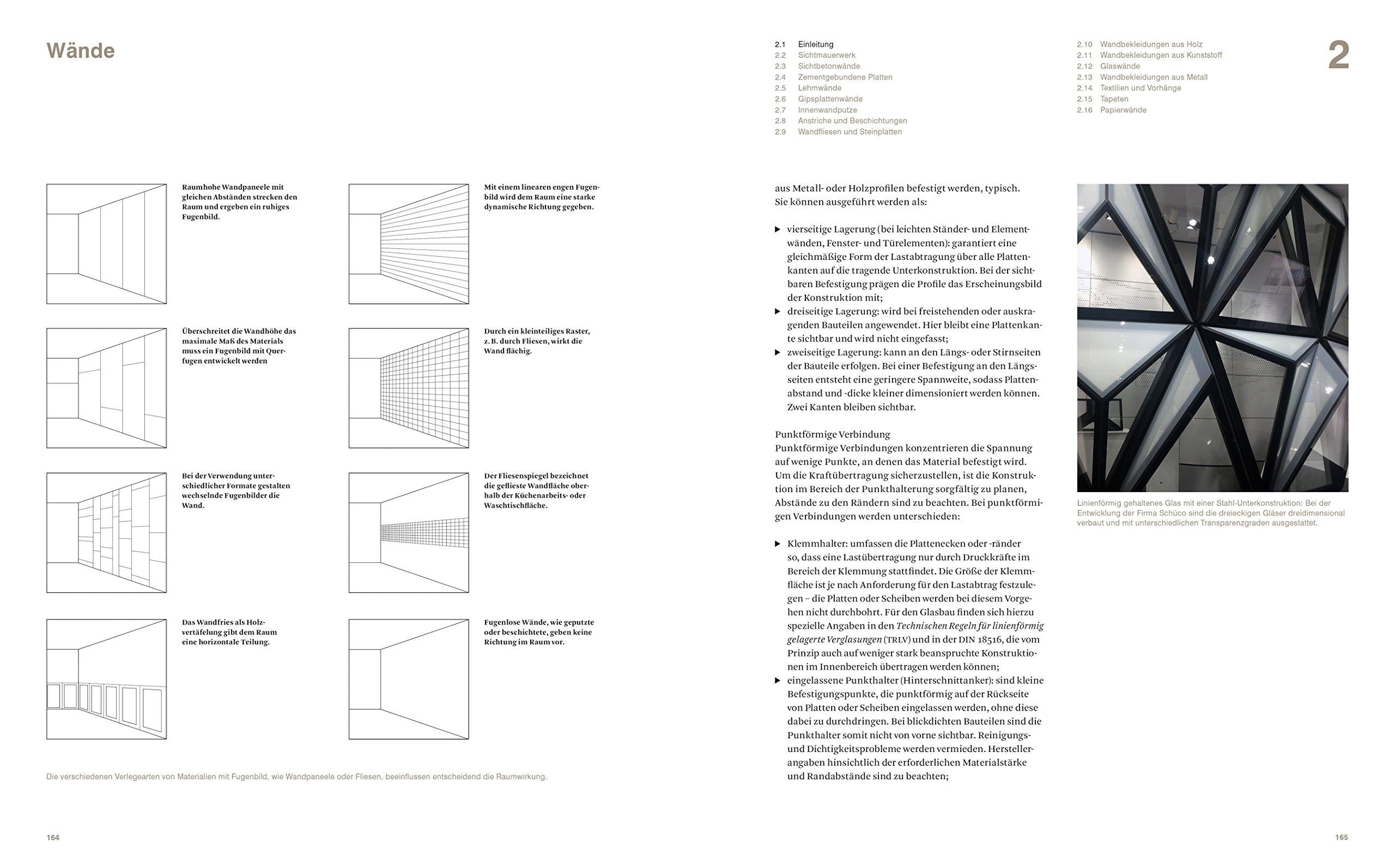 Materialien Und Oberflächen Amazoncom Books - Verlegearten fliesen