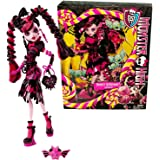 """Mattel Year 2013 Monster High """"Sweet Screams"""" Series 11 Inch Doll Set - DRACULAURA """"Daughter of The Dracula"""" (BHNO1) with Purse and Candy Pet Bat"""