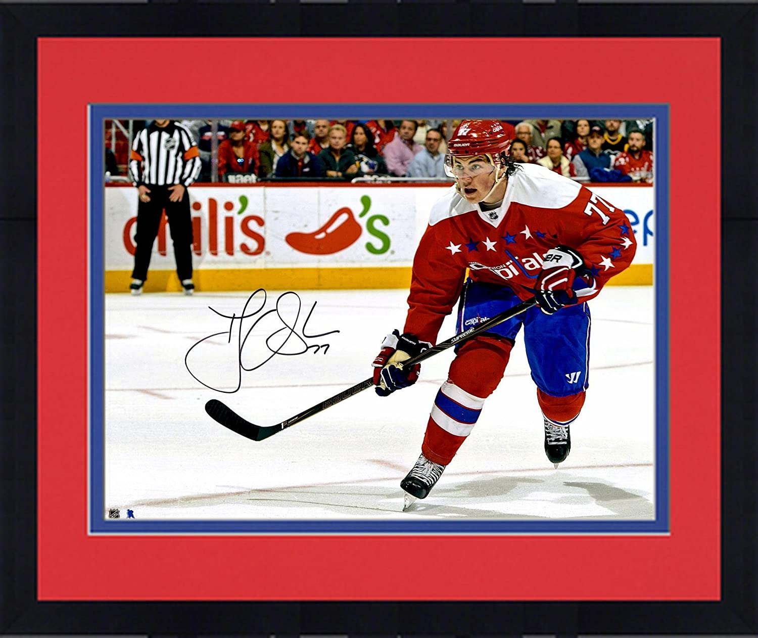 d459a9add26 Framed T.J. Oshie Washington Capitals Autographed 16