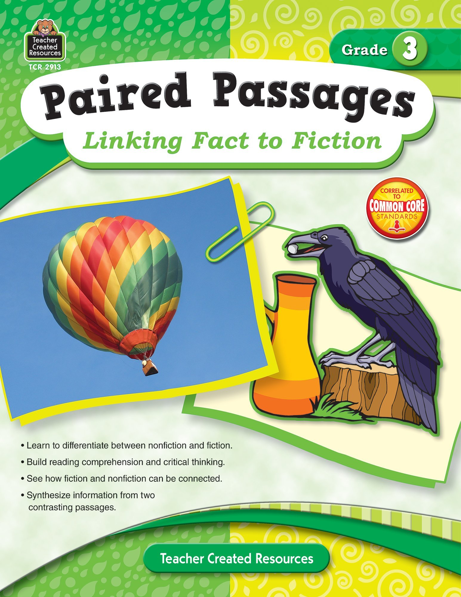 Amazon.com: Paired Passages: Linking Fact to Fiction Grd 3 ...